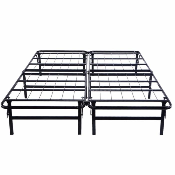 Jual Grosir Goplus Queen Size Platform Metal Bed Frame Mattress Kota Sukabumi Brownshop771 Tokopedia