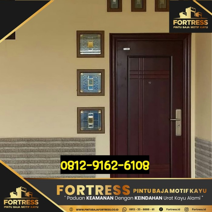 baja ringan banjarmasin jual 0812 9162 6105 fotress membuat pintu
