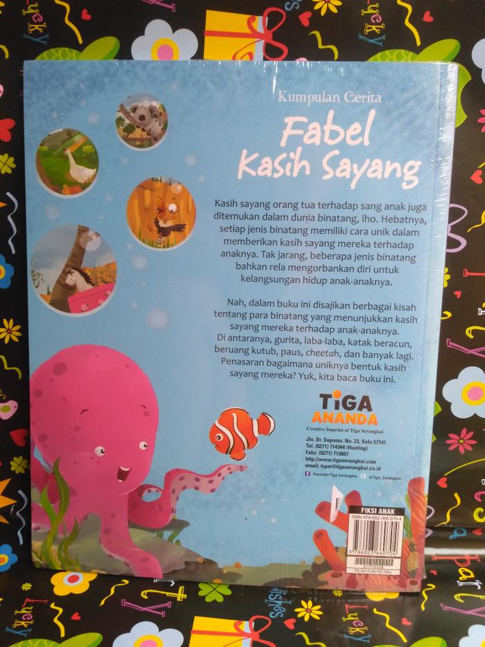 Contoh Cerita Fabel : contoh, cerita, fabel, Kumpulan, Cerita, Fabel, Kasih, Sayang, Jakarta, Selatan, IanWibisono, Tokopedia