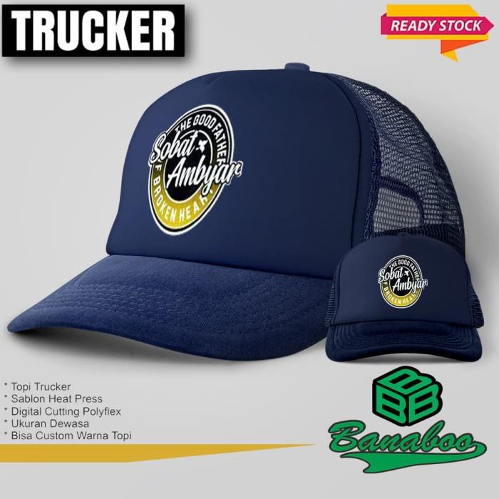 Jual Topi Trucker Sobat Ambyar N127 Banaboo Shopping Jakarta