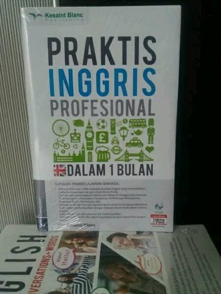 1 Bulan Bahasa Inggris : bulan, bahasa, inggris, Promo, Bahasa, Inggris, Praktis, Profesional, Bulan, Jakarta, Timur, Karta, Wastuti, Tokopedia
