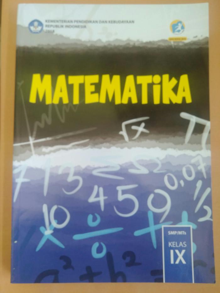 Buku Paket Matematika Kelas 9 : paket, matematika, kelas, Kelas, Matematika, Kurikulum, Revisi, Jakarta, Utara, Zulaika, Tokopedia