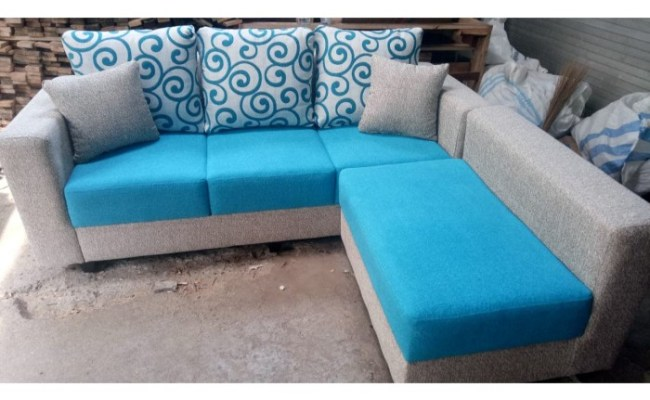 Jual Sofa L Putus Murah Bagus Kota Bekasi Pusat