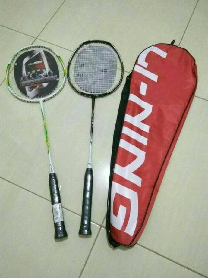 Gambar Bulutangkis : gambar, bulutangkis, Raket, Badminton, Bulutangkis, Ready, Stock, Bandung, Trienzo, Grosir, Tokopedia