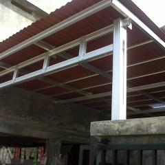 Canopy Baja Ringan Minimalis Jual Pemasangan Kanopi Kota Padang