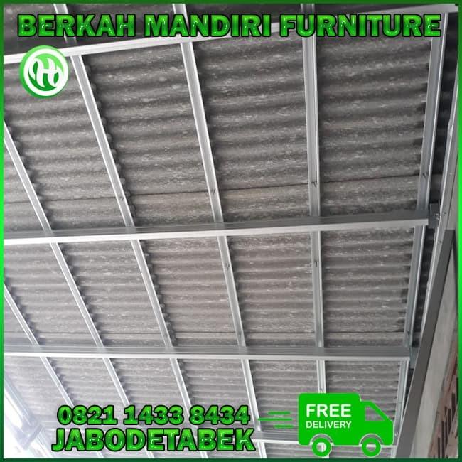 rangka baja ringan untuk atap asbes jual canopi kanopi dengan kota