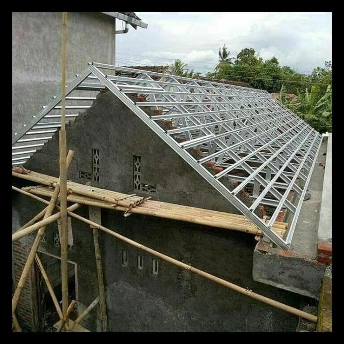 rangka atap baja ringan murah jakarta jual canal 0 75 mm sni wa