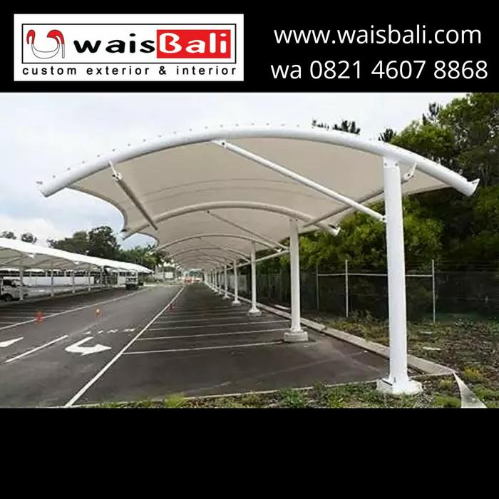 kanopi baja ringan subang jual tenda atap membran tension membrane custom bali