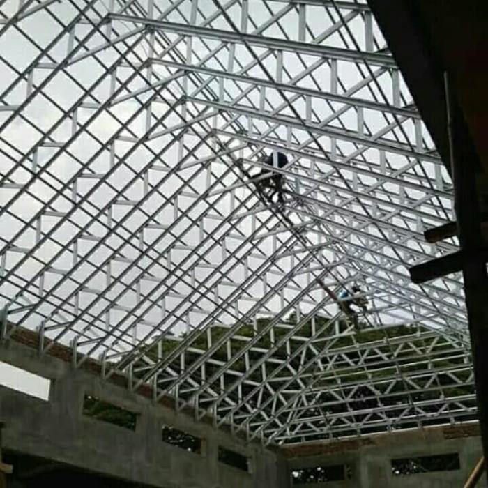 jasa pemasangan baja ringan bekasi jual termurah rangka atap berkualitas 082186476051