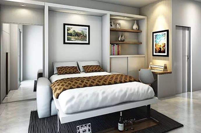 Jual Bedroom Set Cokelat Kab Bandung Barat Furniture Keren Tokopedia