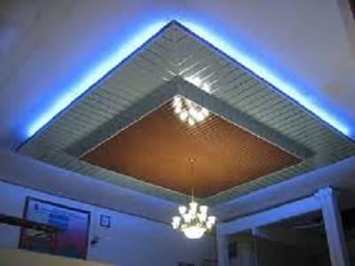pasang plafon baja ringan jual partisi gypsum pvc alumunium atap