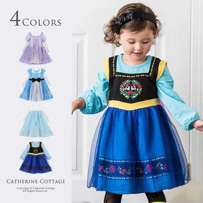 Jual Kostum Princess Elsa Anna Frozen Princess Sofia Alice In Wonderland 100 Anna Jakarta Utara Baby Angeline Shop Tokopedia