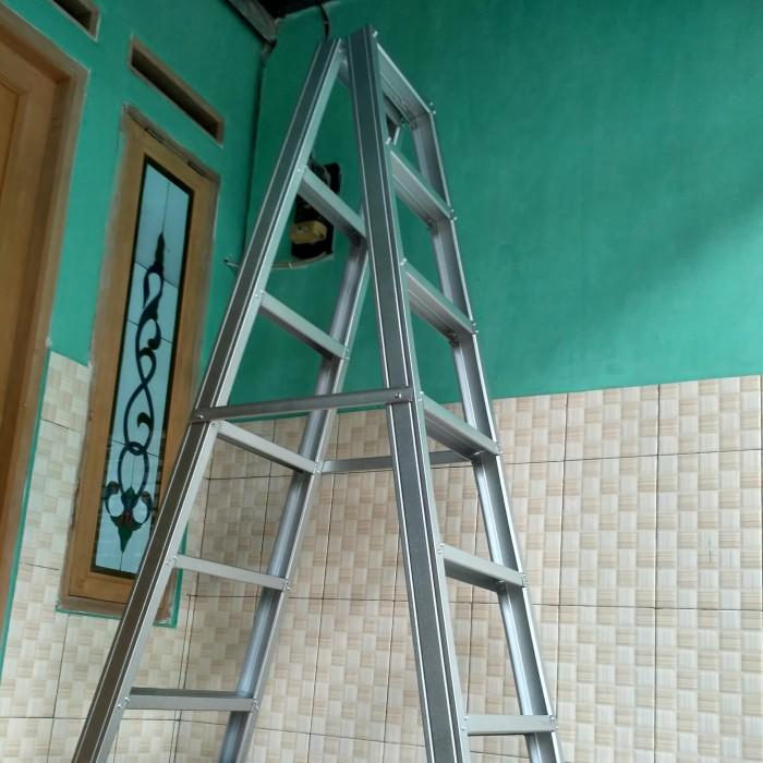 harga baja ringan bekas jual tangga lipat tinggi 2 meter kota tangerang