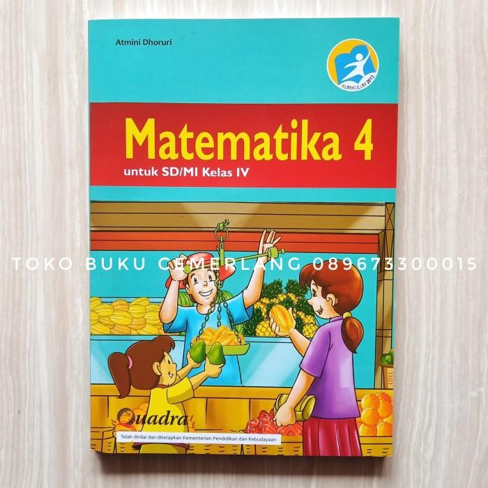Sedangkan buku siswa matematika k13 kelas 5 merupakan penyajian dalam tahapan pembelajaran 5 m seperti mengamati menanya menalar mencoba dan mengkomunikasikan. Download Buku Matematika Kelas 4 Mediatama - Dunia Sosial