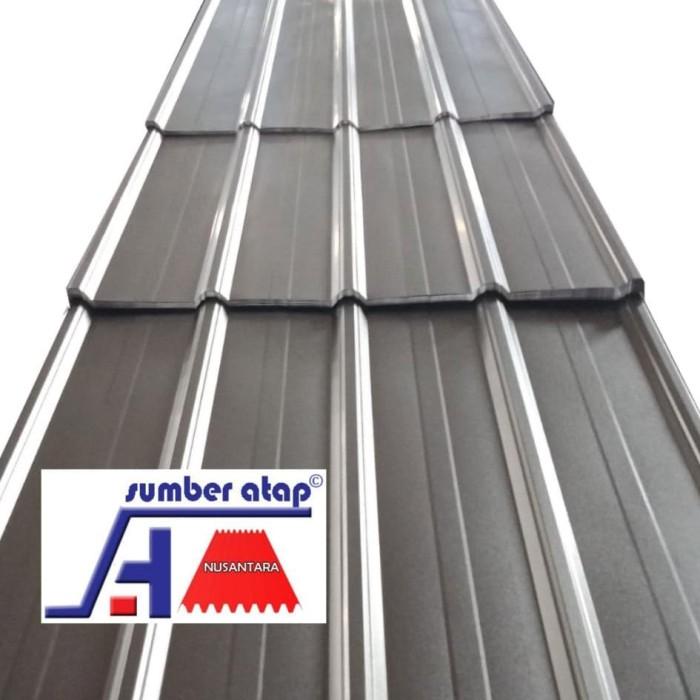 harga atap baja ringan zinc jual spandek aluminium kab bekasi sumber