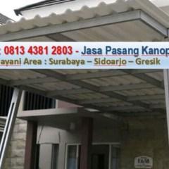 Kanopi Baja Ringan Bekas Jual Minimalis Surabaya Harga