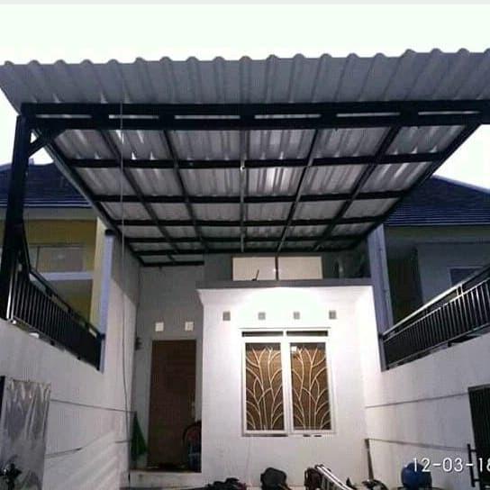 kanopi baja ringan cibitung jual atap spandek 081311981213 kota bekasi