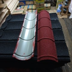 Harga Nok Baja Ringan Jual Genteng Metal Pasir Warna Hitam Merah Kab