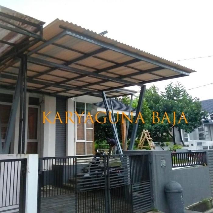 kanopi baja ringan vs galvanis jual alderon rs tiang v cat cendana residence