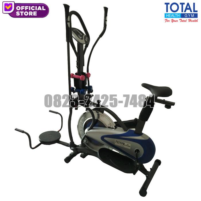 Jual Orbitrack Plat 5 Sepeda Fitness Twister Jakarta Barat Total Health Gym Tokopedia