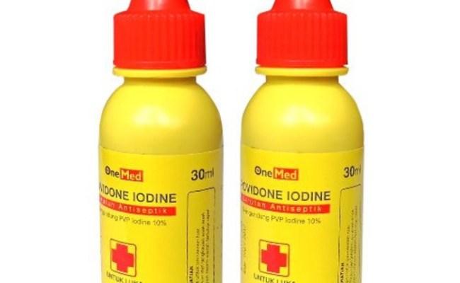 Jual Povidone Iodine 30ml Merk Onemed Obat Merah Obat