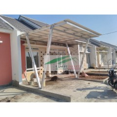 Canopy Baja Ringan Minimalis Jual Kanopi Atap Alderon Rs Tiang Double