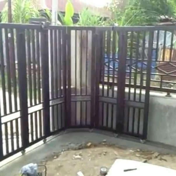 kanopi baja ringan subang jual pagar rumah minimalis kab bengkel las artamandiri