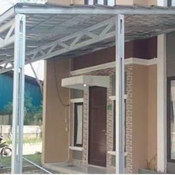 baja ringan teras rumah jual model kanopi kota padang global