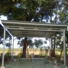 Kanopi Baja Ringan Pontianak Jual Jasa Pelayanan Pemasangan Kota Padang