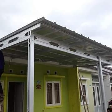 atap baja ringan karawang jual rangka dan kanopi kab karya