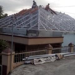 Jenis Atap Rumah Baja Ringan Jual Macam Bentuk Dari Kota Padang