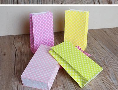 Jual Paper Craft Art Polka Art Paper Import Kertas Kantong Samson Packaging Jakarta Pusat Estellafavory Tokopedia