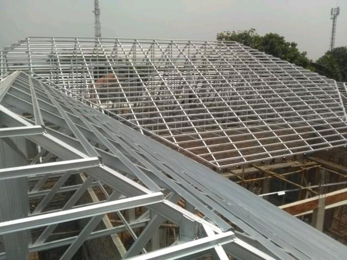 rangka atap baja ringan yang paling bagus jual pemasangan murah cg78 kab