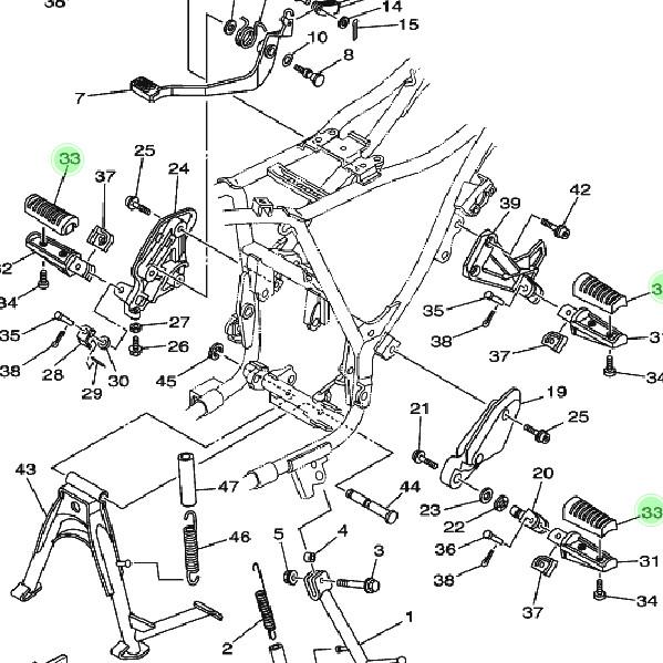 Diagram Kabel Body Yamaha Scorpio