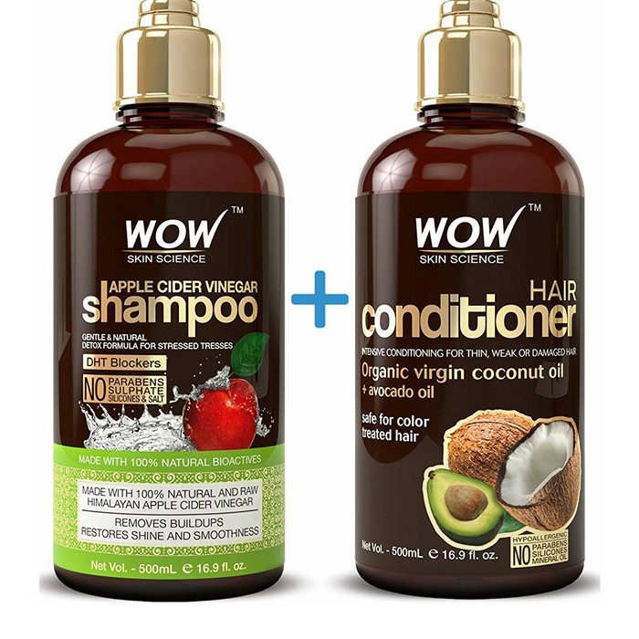 Jual Wow Apple Cider Vinegar Shampoo Amp Hair Conditioner Set