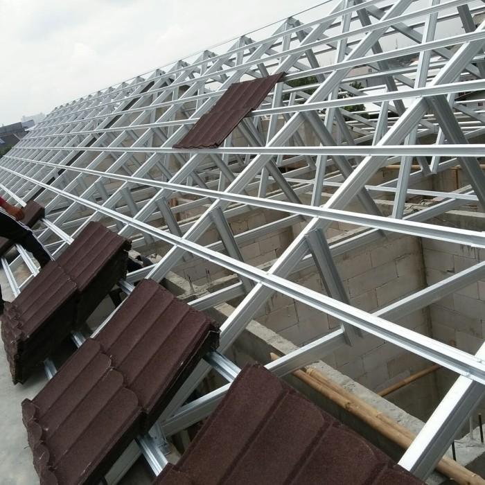 pasang atap baja ringan bekasi jual bongkar kota tokoh