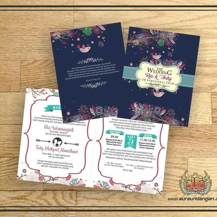 Jual Undangan Pernikahan Murah Dengan Design Modern Dan By Request Kab Bantul Aura Undaangan Jogja Tokopedia