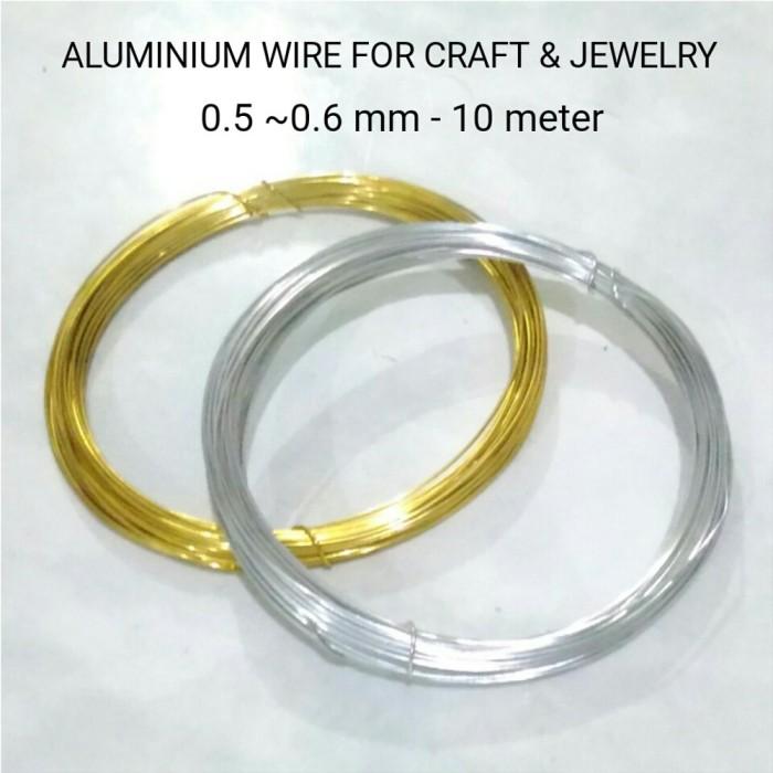 Jual Kawat Aluminium 0 5 0 6mm Aluminium Wire For Craft Jewelry Collect Jakarta Selatan Muyamshop Tokopedia