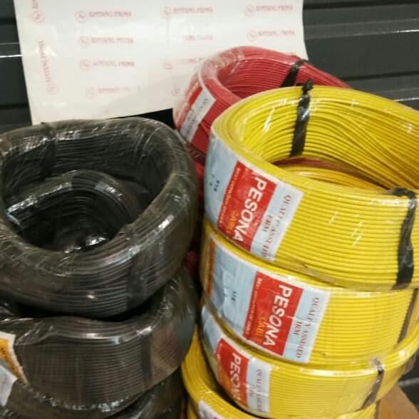baja ringan merk pesona jual kabel nya 0 9mm warna warni jakarta pusat