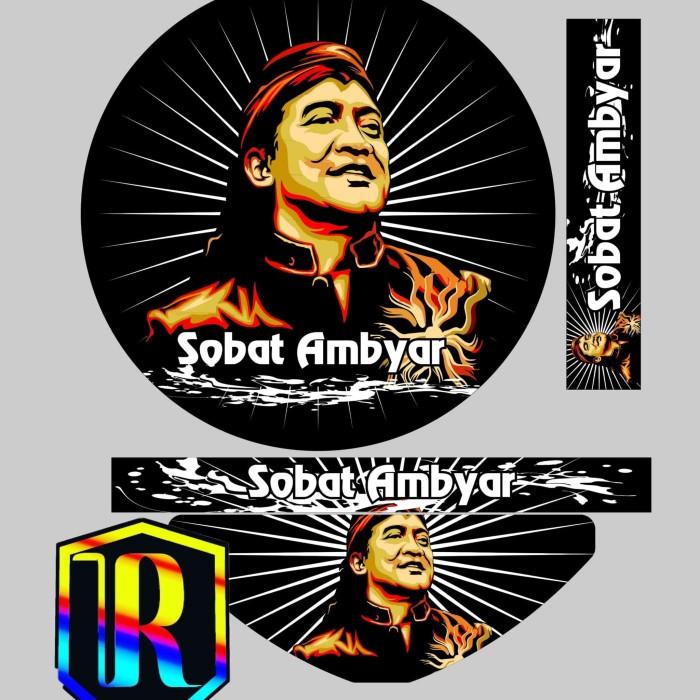 Jual Sticker Tebok Stiker Decal Sobat Ambyar Kota Blitar