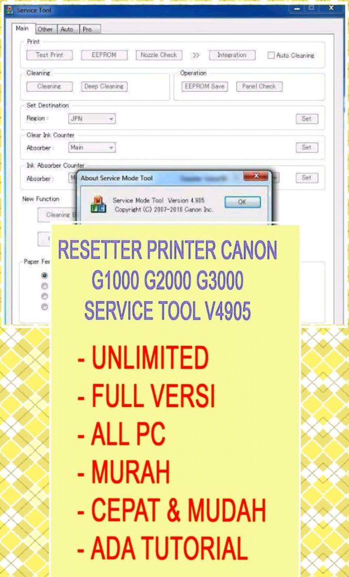 Download Resetter Canon G1000 : download, resetter, canon, g1000, Resetter, Canon, St4905