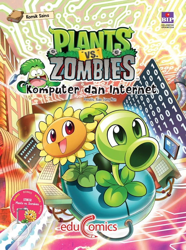 Jual Educomics Plants Vs Zombies Komputer Dan Internet Jakarta Barat Bukugalileo Tokopedia