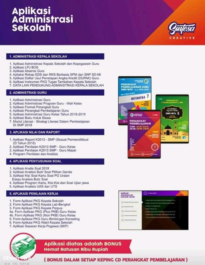 Aplikasi Penilaian K13 Smp Revisi 2018 : aplikasi, penilaian, revisi, Format, Penilaian