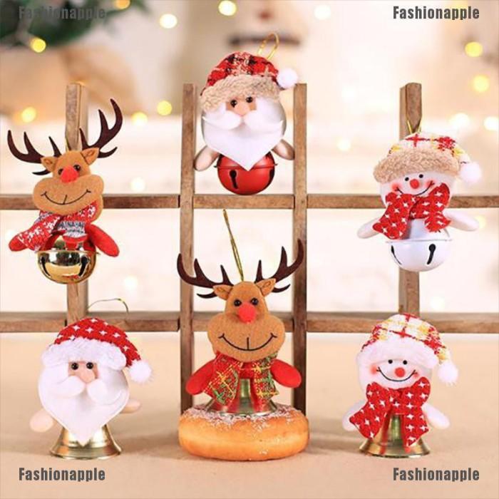 Jual Faid Jelly Christmas Decorations Bell Cute Snowman Bear Elk Santa Jakarta Barat Arbikolo Tokopedia