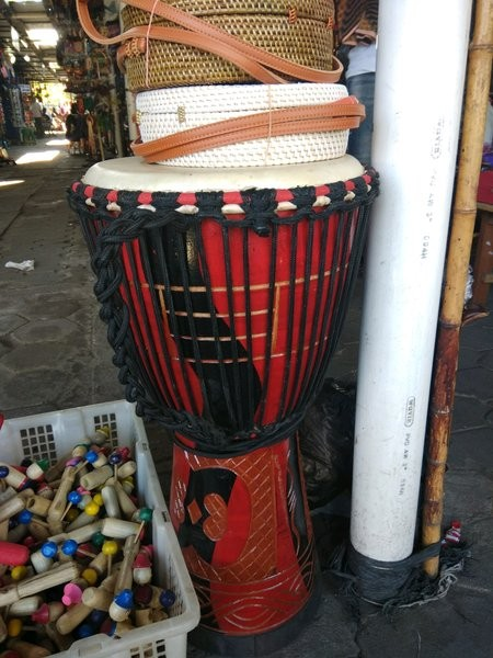 Alat Musik Pukul Tradisional : musik, pukul, tradisional, MUSIK, TRADISIONAL, JIMBE-, PUKUL, Yogyakarta, Ratakan505, Tokopedia