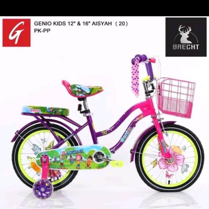 Jual Sepeda mini anak perempuan 16 inch genio Aisyah ...