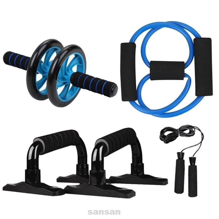 Jual 5 In 1 Fitness Equipment Muscle Strength Spring Exerciser Jump Rope Jakarta Barat Agumos Tokopedia