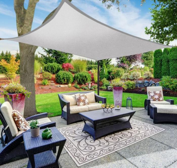 Jual 4x4 6 8m Sun Shade Sail Outdoor Garden Patio Uv Proof Awning Canopy Jakarta Selatan Vivin Shop Tokopedia