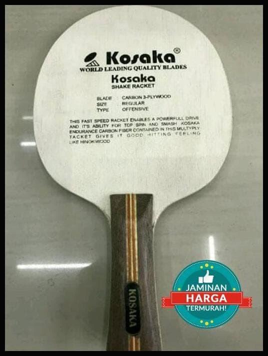 Ukuran Bet Tenis Meja : ukuran, tenis, Tenis, Pingpong, Blade, Carbon, Kosaka, Original, Bandung, Titin, Tokopedia