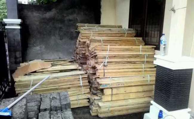 Jual Kayu Pinus Jati Belanda Ex Pallet Cargo Bali